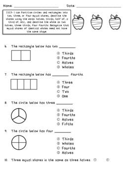 Second Grade Math Assessments- 2.G.1, 2.G.2, 2.G.3 FREEBIE!!!