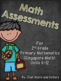 2nd Grade Math Assessments: Part 2- Primary Mathematics/ S