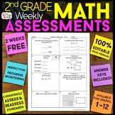 2nd Grade Math Assessments | 2nd Grade Math Quizzes