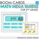 Second Grade Math Boom Cards MEGA BUNDLE / Distance Learning