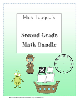 Second Grade Math Bundle