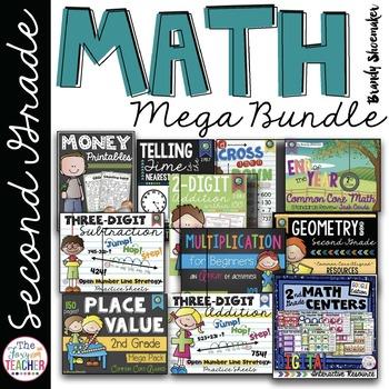 Second Grade Math Bundle