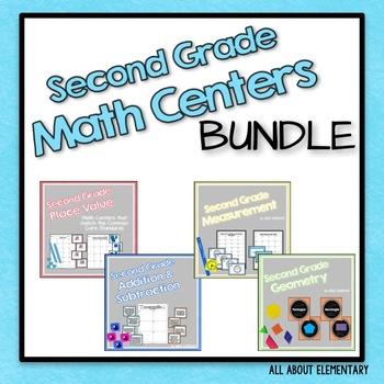 Second Grade Math Bundle {CCSS}