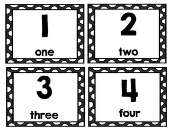 Second Grade Math Center: 100's Chart Math Activity (Black and White)