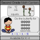 Second Grade Math Center: 2nd Grade Math Game