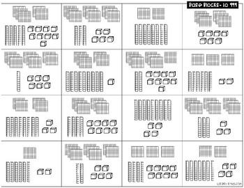 Second Grade Math Center Puzzles