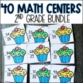 2nd Grade Math Centers BUNDLE   Activities for the YEAR