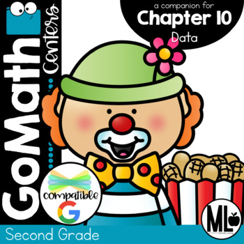 GoMath-Second Grade Math Centers, Data, Chapter 10