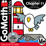 Second Grade Math Centers, Geometry and Fraction Concepts, Chapter 11