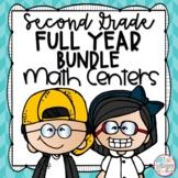 Second Grade Math Centers Bundle