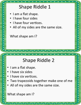 Second Grade Math Centers for ALL Geometry Standards
