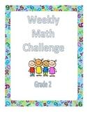 Second Grade Math Challenges