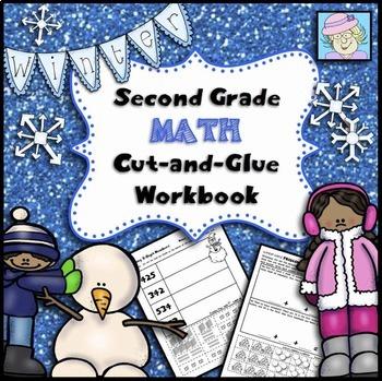 Winter Math Worksheets 2nd Grade    Math Worksheets 2nd Grade Common Core