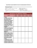 Second Grade Math Common Core Instructional Checklist