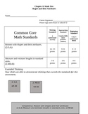 Second Grade Math Connects Ch. 11 Common Core Assessment a