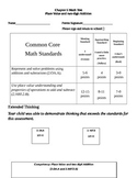 Second Grade Math Connects Ch. 5 Common Core Assessment an