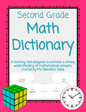 Second Grade Math Dictionary