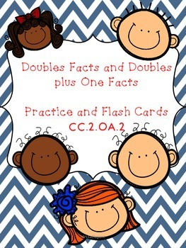 Second Grade Math Doubles Facts and Doubles plus One