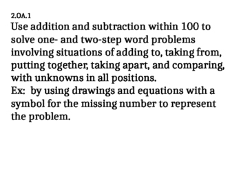 Second Grade Math Eureka Great Minds Module 4 Title Standards Objectives Problem