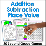 Second Grade Math All Year Games Bundle | Distance Learning