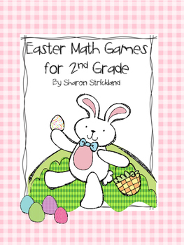Second Grade Math Games for Easter and Spring