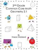 Second Grade Math-Geometry-2.1 Common Core Aligned