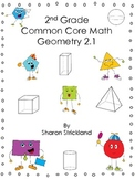 Second Grade Math-Geometry-2.1 Common Core Aligned