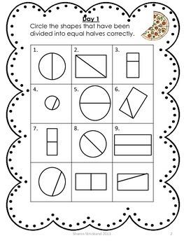 Second Grade Common Core Math-Geometry- 2.3