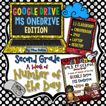 Second Grade Math Google Drive MS One Drive Number of the Day
