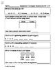 Second Grade Math Homework - Entire Year