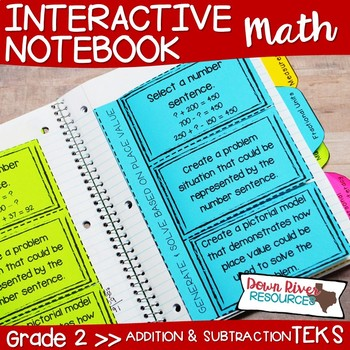 First Grade Math Interactive Notebook: Addition and Subtraction ...