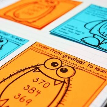 Second Grade Math Interactive Notebook Bundle- All TEKS Standards