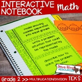 Second Grade Math Interactive Notebook: Contextual Multipl