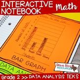 Second Grade Math Interactive Notebook: Data Analysis- Gra