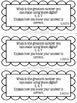 Second Grade Math Journal: 100 Word Problem Strips