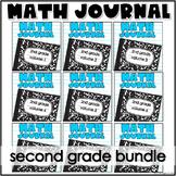 Second Grade Math Journal Bundle Volumes 1-9