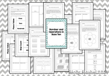 Second Grade Math Journal Prompts and Activities