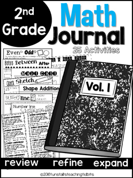Second Grade Math Journal Volume 1