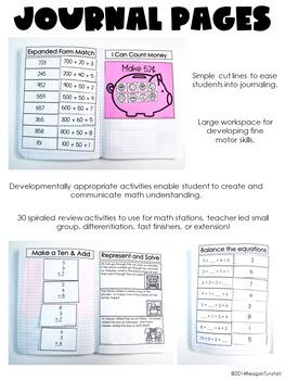 Second Grade Math Journal Volume 3