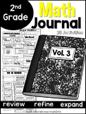 Second Grade Math Journal Volume 3