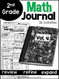 Second Grade Math Journal Volume 4