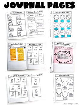 Second Grade Math Journal Volume 5