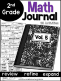 Second Grade Math Journal Volume 5