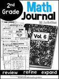 Second Grade Math Journal Volume 6