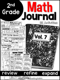 Second Grade Math Journal Volume 7