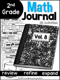 Second Grade Math Journal Volume 8