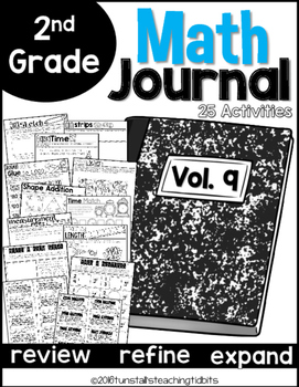 Second Grade Math Journal Volume 9