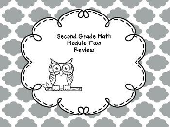 Second Grade Math Module 2 Review Questions