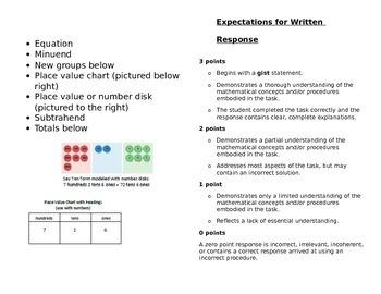 Second Grade Math Module 4 Mini Book for Centers