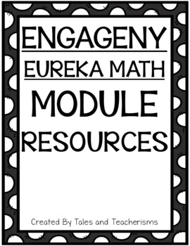 Second Grade Math Module 8 Mini Book for Centers